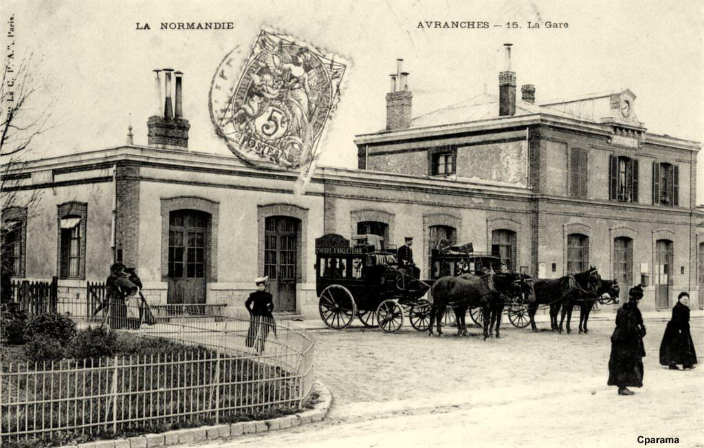 Avranches gare ETAT/SNCF