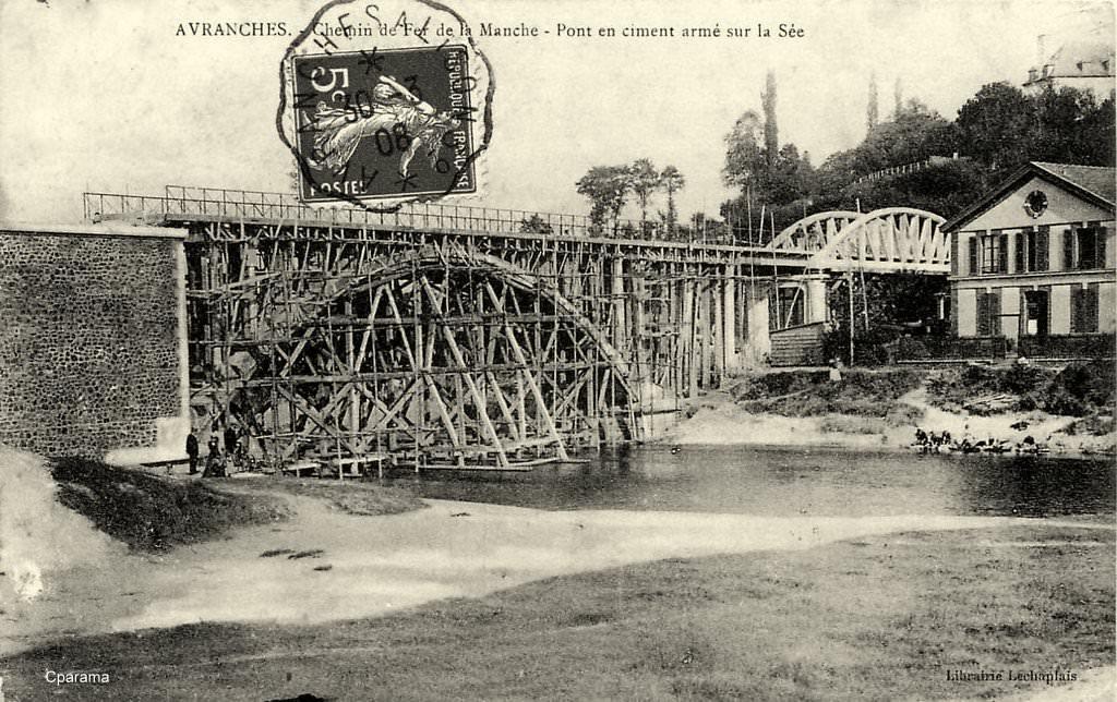 Avranches pont sur la Sée