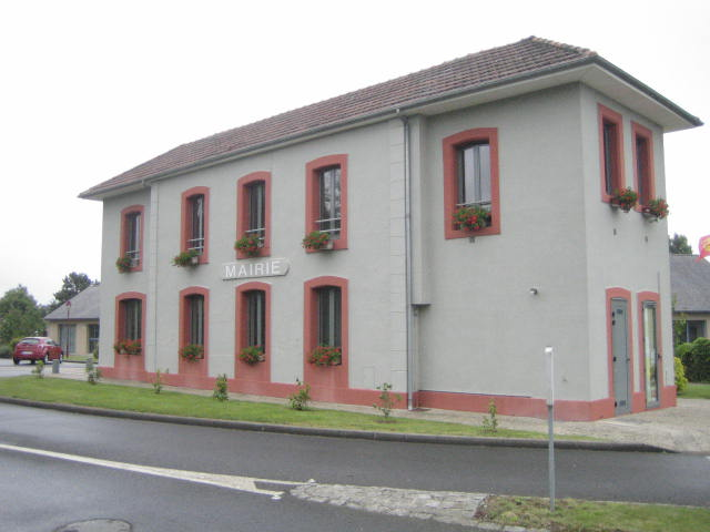 Carolles gare, aujourd'hui la mairie