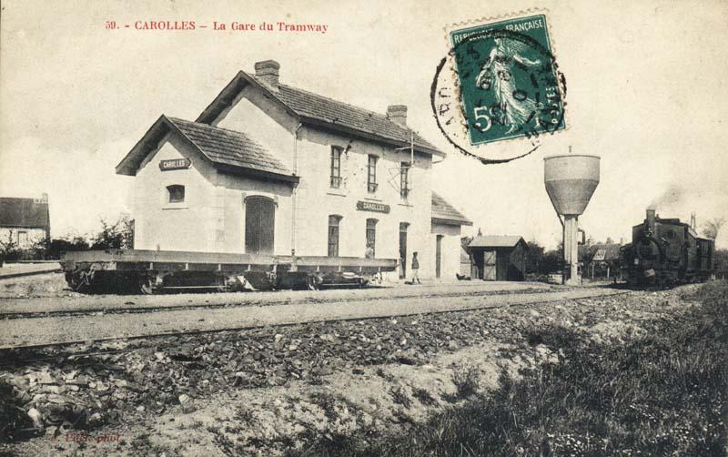 Carolles gare (1)