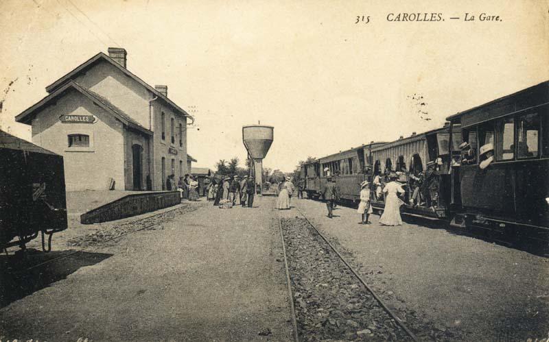 Carolles gare (3)
