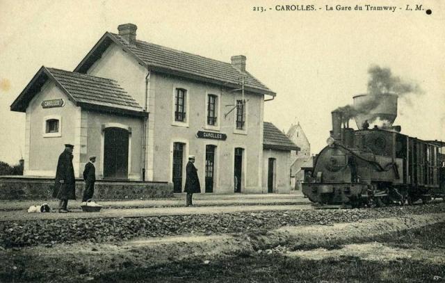 Carolles gare (2)