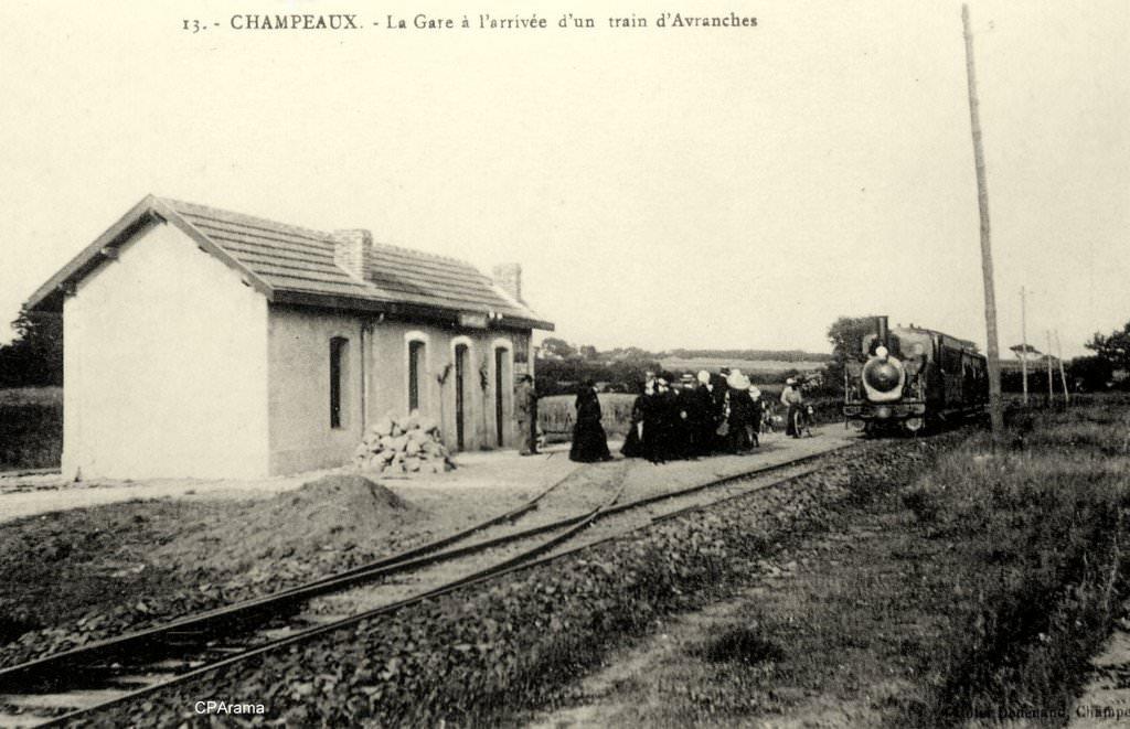 Champeaux gare