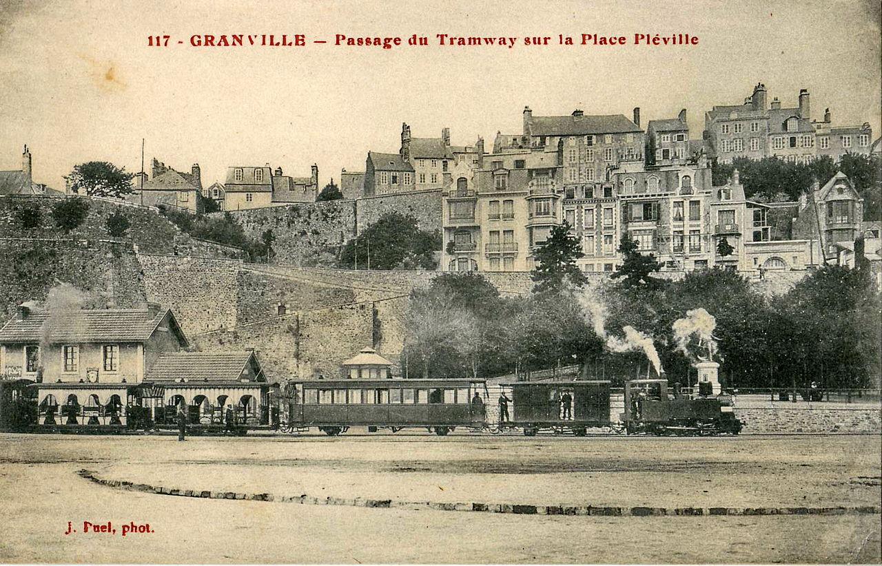 Granville port - place Pléville
