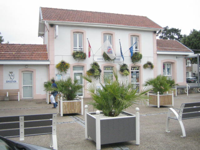 Jullouville gare, aujourd'hui syndicat d'initiatives