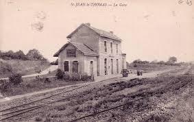 St Jean le Thomas gare