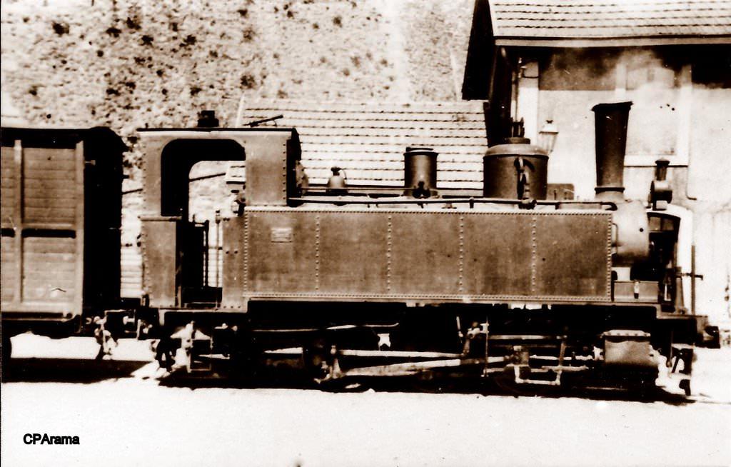 Locomotive à vapeur Weidknecht type 030T
